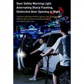 Baseus Lampu LED Pintu Mobil Door Open Warning Light 2 PCS - CRFZD-01 - Black - 2