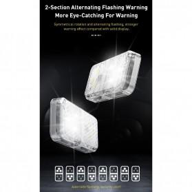 Baseus Lampu LED Pintu Mobil Door Open Warning Light 2 PCS - CRFZD-01 - Black - 4
