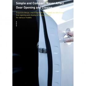 Baseus Lampu LED Pintu Mobil Door Open Warning Light 2 PCS - CRFZD-01 - Black - 5