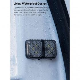 Baseus Lampu LED Pintu Mobil Door Open Warning Light 2 PCS - CRFZD-01 - Black - 6