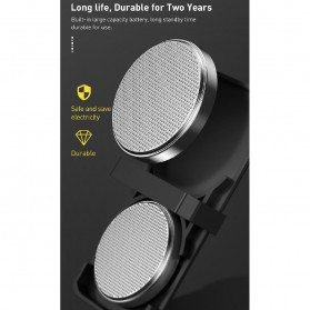 Baseus Lampu LED Pintu Mobil Door Open Warning Light 2 PCS - CRFZD-01 - Black - 7