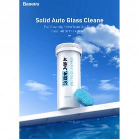 Baseus Pil Sabun Pembersih Wiper Kaca Mobil Solid Auto Glass Cleaner 12 PCS - CRBLS-02 - White - 2