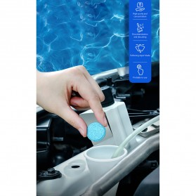 Baseus Pil Sabun Pembersih Wiper Kaca Mobil Solid Auto Glass Cleaner 12 PCS - CRBLS-02 - White - 3