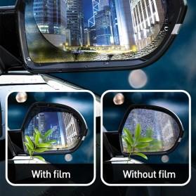 Baseus Sticker Oval Kaca Spion Rainproof Waterproof Protective 135x95mm 2 PCS - SGFY-C02 - Transparent - 2