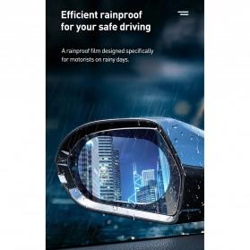 Baseus Sticker Oval Kaca Spion Rainproof Waterproof Protective 135x95mm 2 PCS - SGFY-C02 - Transparent - 6