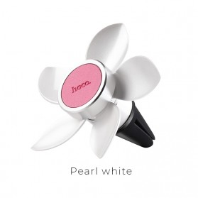 Hoco Easy Move Magnetic Air Vent Car Holder Smartphone - CA33 - Pearl White - 1
