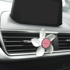 Hoco Easy Move Magnetic Air Vent Car Holder Smartphone - CA33 - Pearl White - 4