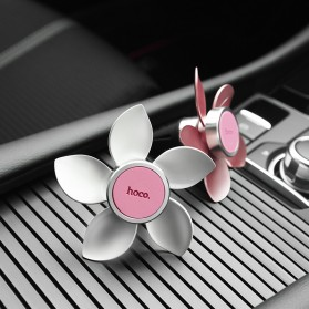 Hoco Easy Move Magnetic Air Vent Car Holder Smartphone - CA33 - Pearl White - 5