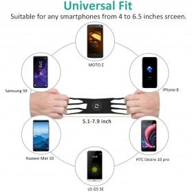 BUBM Smartphone Holder Sepeda Universal - XD063 - Black - 3