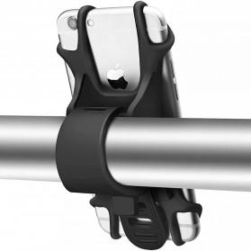 BUBM Smartphone Holder Sepeda Universal - XD201 - Black - 2