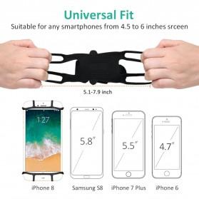 BUBM Smartphone Holder Sepeda Universal - XD201 - Black - 4