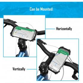 BUBM Smartphone Holder Sepeda Universal - XD201 - Black - 7