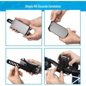 BUBM Smartphone Holder Sepeda Universal - XD201 - Black - 8