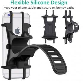 BUBM Smartphone Holder Sepeda Universal - XD201 - Black - 9