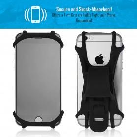 BUBM Smartphone Holder Sepeda Universal - XD201 - Black - 11