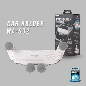 WK Air Vent Car Holder Smartphone - WA-S32 - Black