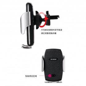 WK Car Wireless Charger Suction Dashboard Car Holder Mount - WP-U44 - Black - 5