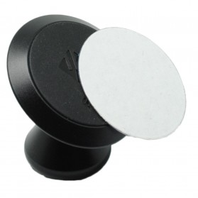 Floveme 360 Rotation Magnetic Car Holder Smartphone - PO174178 - Black - 2