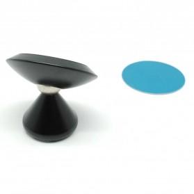 Floveme 360 Rotation Magnetic Car Holder Smartphone - PO174178 - Black - 4