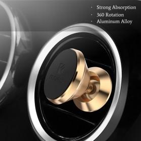 Floveme 360 Rotation Magnetic Air Vent Car Holder Smartphone - B38401 - Black - 2