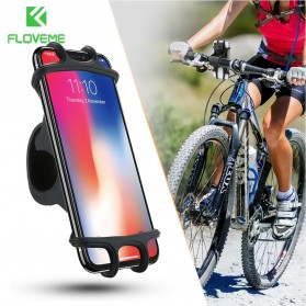 TaffSport Bike Smartphone Holder Sepeda Universal Bicycle - P0192366 - Black