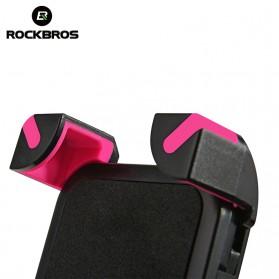 Rockbros Holder Sepeda Smartphone Rotasi 360 Derajat Model 1 - CH-01 - Black - 4