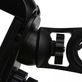 Rockbros Holder Sepeda Smartphone Rotasi 360 Derajat Model 1 - CH-01 - Black - 5