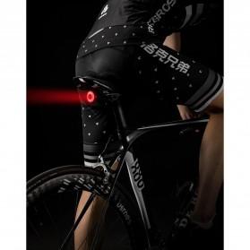 ROCKBROS Lampu Rem Belakang Sepeda LED Taillight 60 Lumens - Q5 - Black - 10