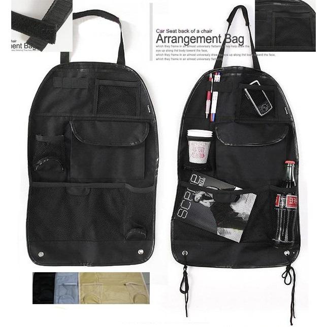 ... Six Pocket Back-seat Organizer with Umbrella Holder - Black - 1 ...