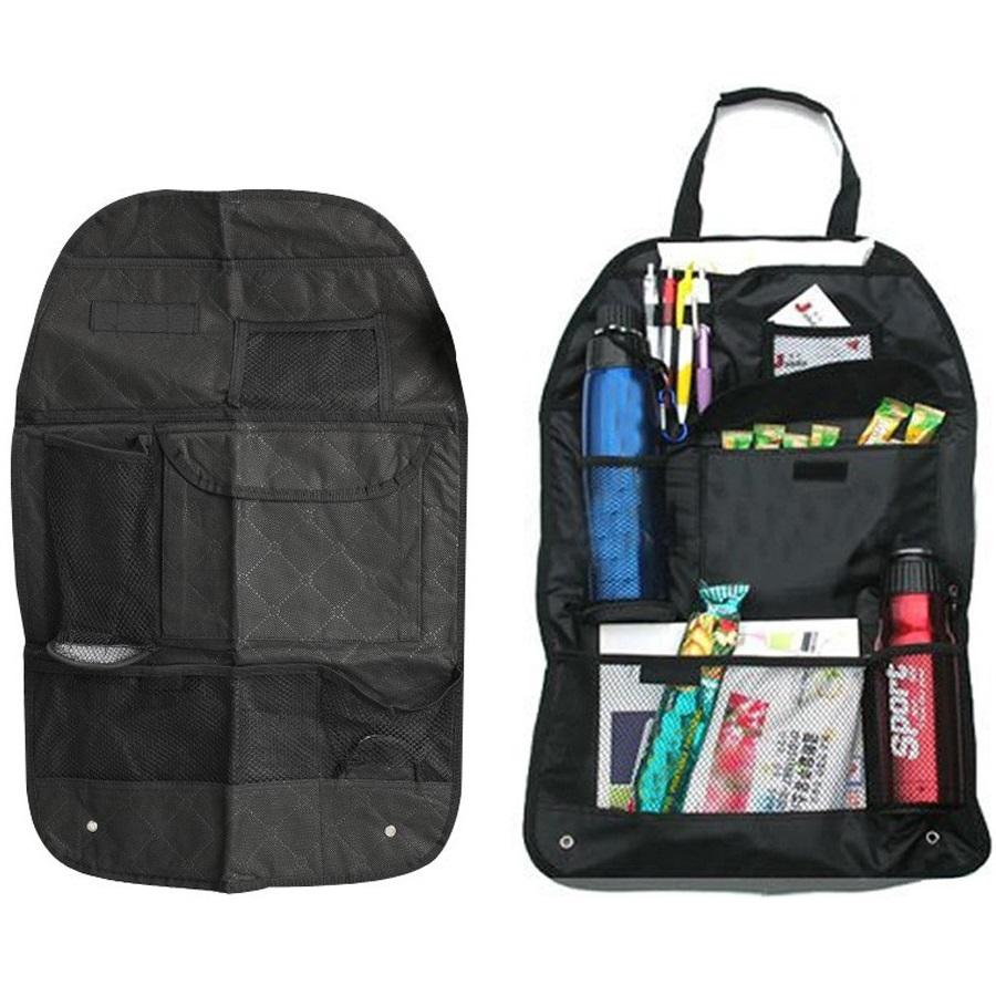 ... Six Pocket Back-seat Organizer with Umbrella Holder - Black - 2 ...