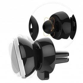 Magnetic Car Air Vent Mount Holder for Smartphone - Black - 3