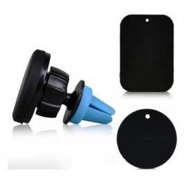 360 Degree Magnetic Car Air Vent Mount Holder - 151005 - Black