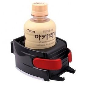 Multipurpose Bottle Car Smart Holder with Smartphone Holder - Black - 4