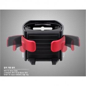 Multipurpose Bottle Car Smart Holder with Smartphone Holder - Black - 6
