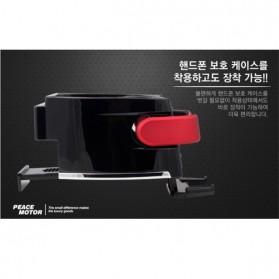 Multipurpose Bottle Car Smart Holder with Smartphone Holder - Black - 12