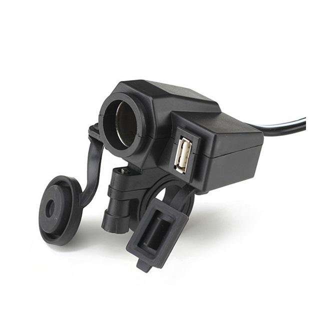 Wupp Cigarette Plug Motor Waterproof Dengan 12v Usb