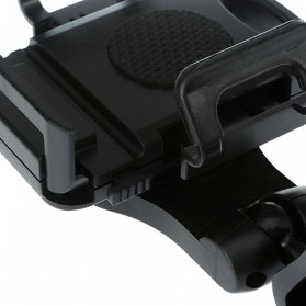 Universal Sun Visor Car Mount Holder for Smartphone4.5 - 5.5 inch - Black - 3