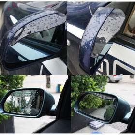 PVC Pelindung Spion Kaca Mobil 2 Pcs - BH030 - Black - 2