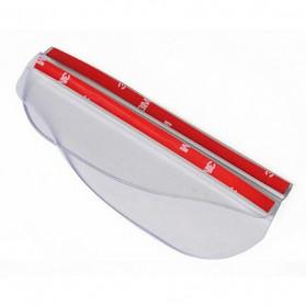 PVC Pelindung Spion Kaca Mobil - White