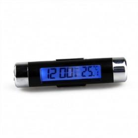 Thermometer Digital Backlight Car - CT20 - Black/Silver - 2