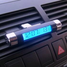 Thermometer Digital Backlight Car - CT20 - Black/Silver - 6