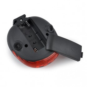 TaffLED Bicycle Laser Strobe Taillight 5 LED / Lampu LED Sepeda - SL-116 - Red - 8