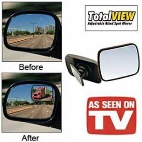 Total View Car Blind Spot Mirror / Kaca Spion Mobil - Black - 2