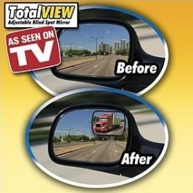 Total View Car Blind Spot Mirror / Kaca Spion Mobil - Black - 3