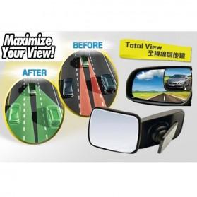Total View Car Blind Spot Mirror / Kaca Spion Mobil - Black - 5