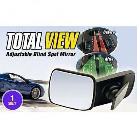 Total View Car Blind Spot Mirror / Kaca Spion Mobil - Black - 6