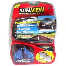 Total View Car Blind Spot Mirror / Kaca Spion Mobil - Black - 7