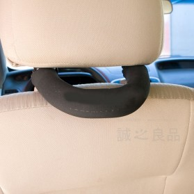 Armrest Car Back Off Security Auxiliary Handler / Pengaman Mobil - Black