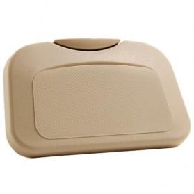 Car Multifunction Foldable Seat Back Meal Table / Meja Lipat Mobil - Brown - 10