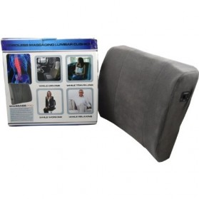 Massage Pro Car Cushion / Bantal Pijat Kursi Mobil - Gray